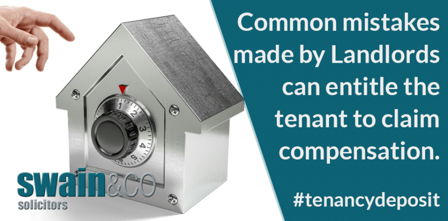 Tenancy Deposits Could You Claim Compensation General Swain